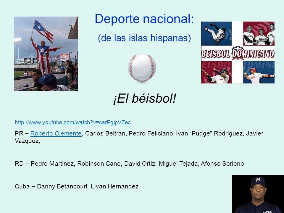 (de las islas hispanas)