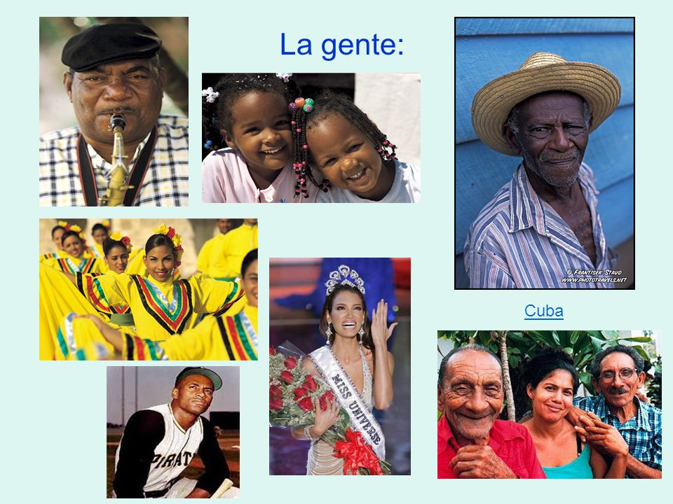 La gente: Cuba