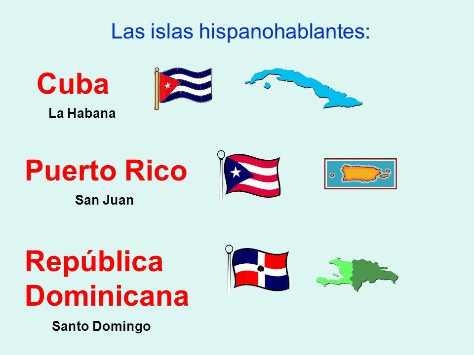 Las islas hispanohablantes:
