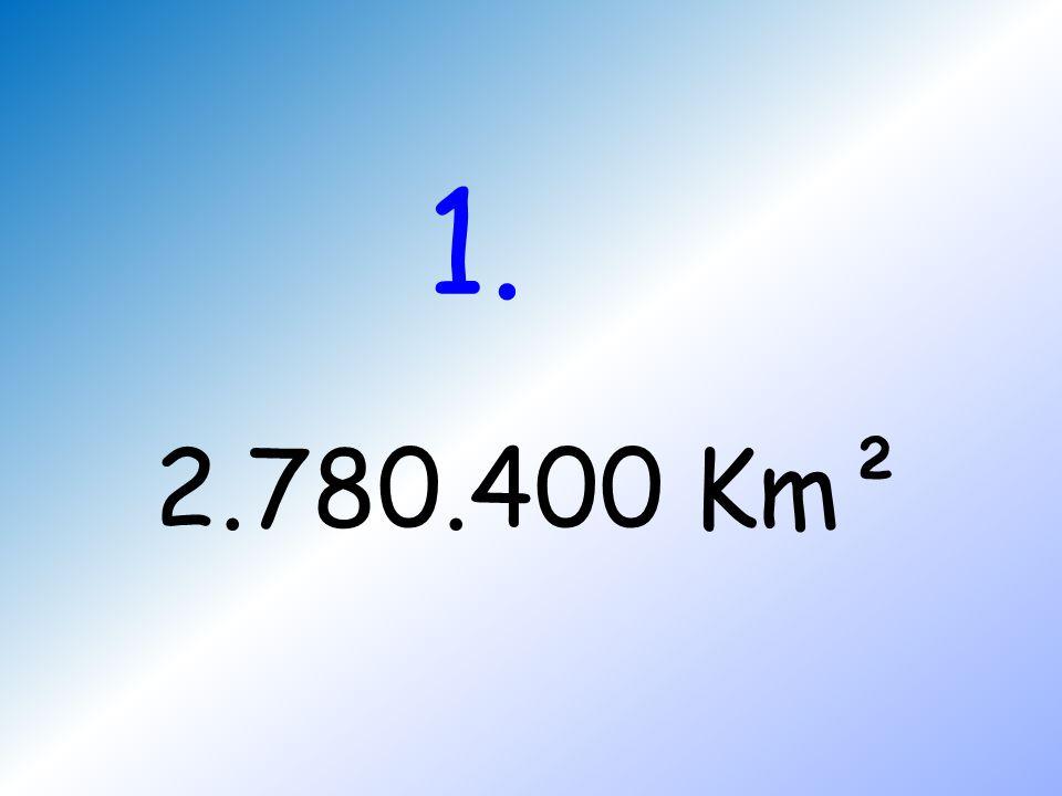 1. 2.780.400 Km²