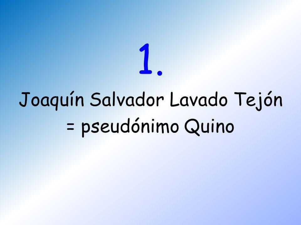 Joaquín Salvador Lavado Tejón