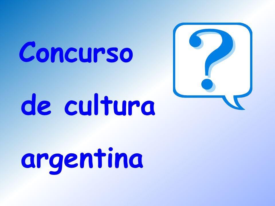 Concurso de cultura argentina