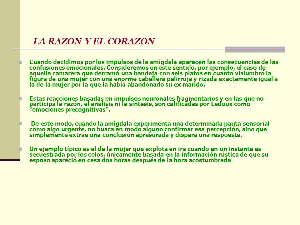 LA RAZON Y EL CORAZON
