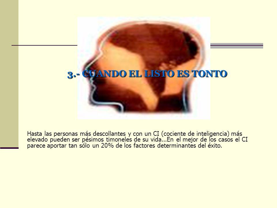 3.- CUANDO EL LISTO ES TONTO