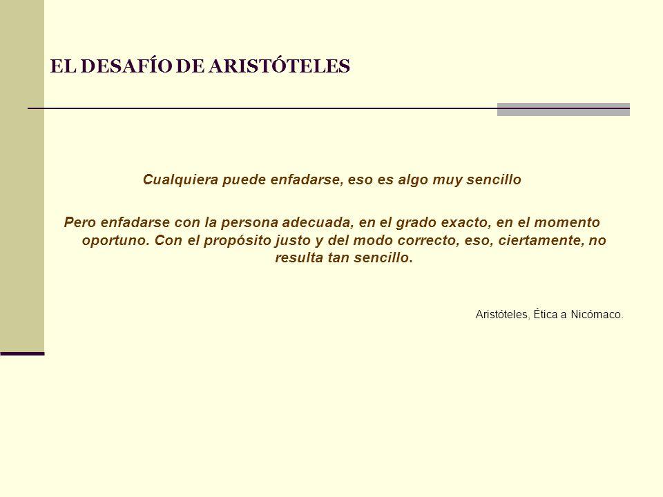 EL DESAFÍO DE ARISTÓTELES
