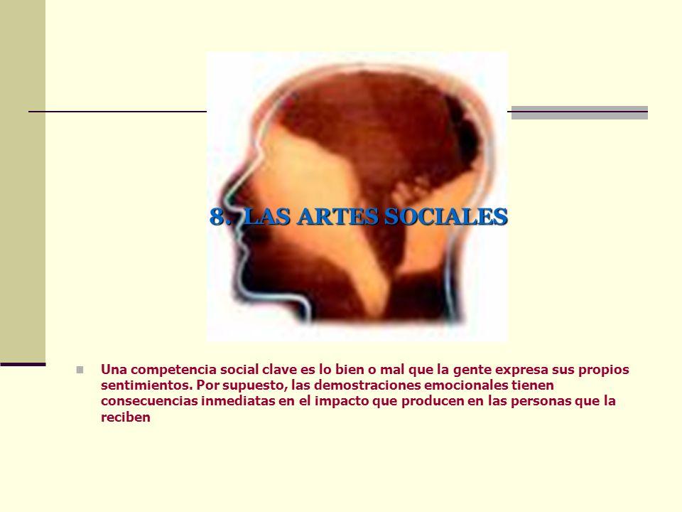 8. LAS ARTES SOCIALES