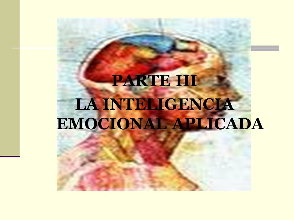 LA INTELIGENCIA EMOCIONAL APLICADA