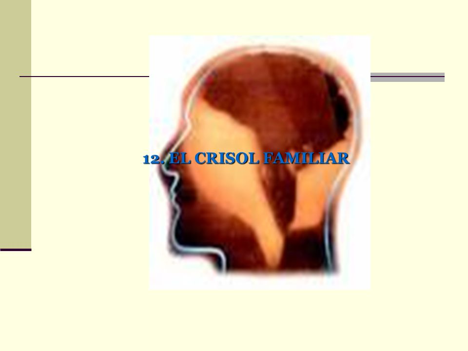 12. EL CRISOL FAMILIAR