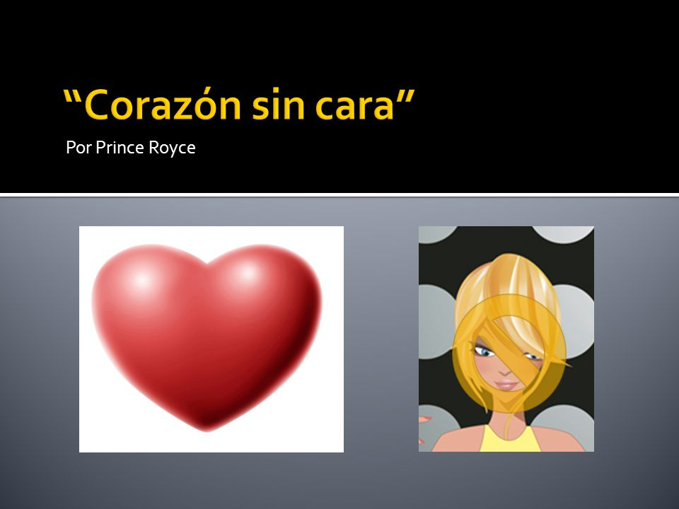 Corazón sin cara Por Prince Royce