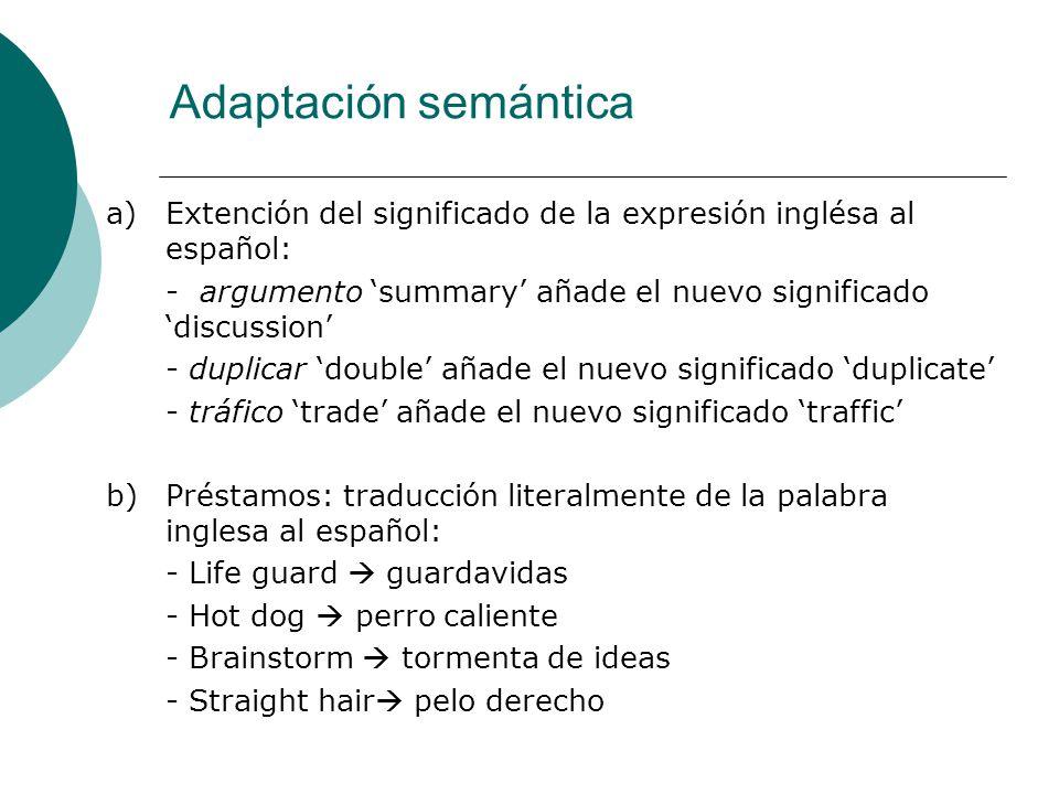 Adaptación semántica