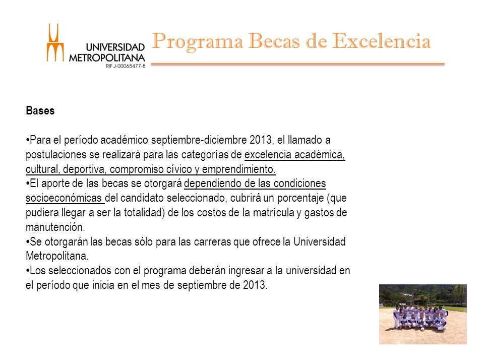 Programa Becas de Excelencia