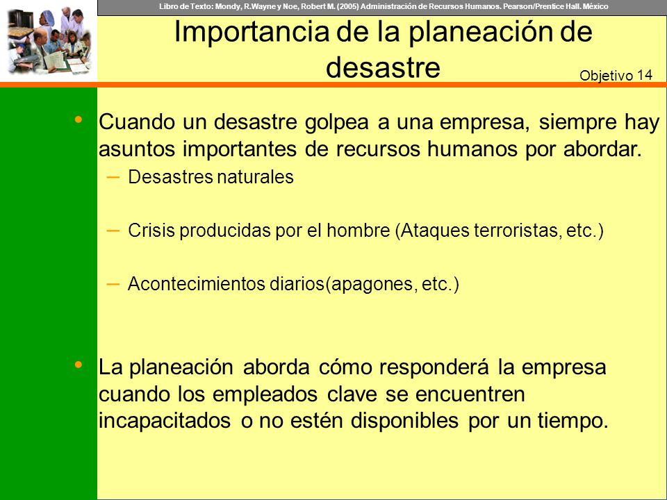 Importancia de la planeación de desastre