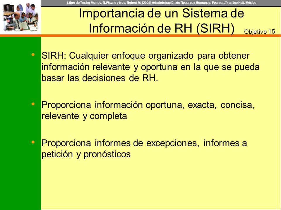 Importancia de un Sistema de Información de RH (SIRH)