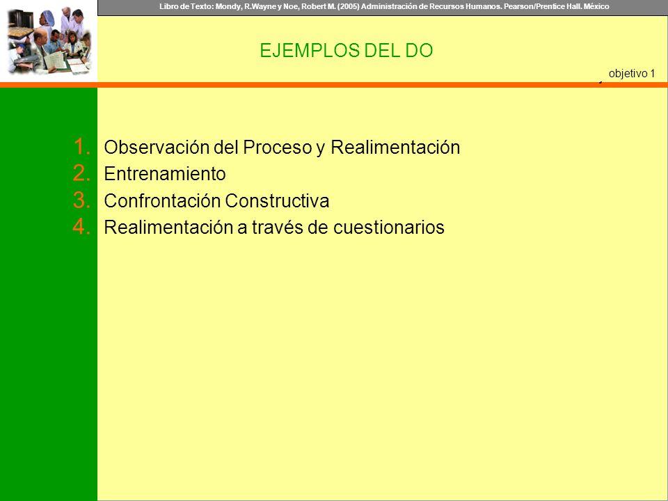 Observación del Proceso y Realimentación Entrenamiento
