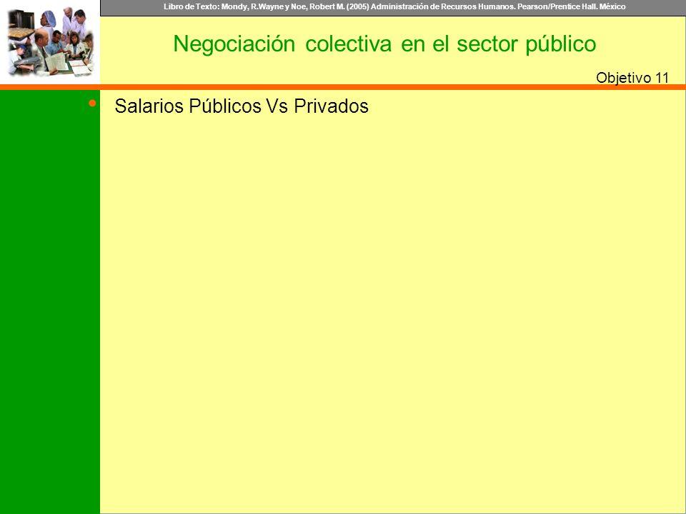 Negociación colectiva en el sector público