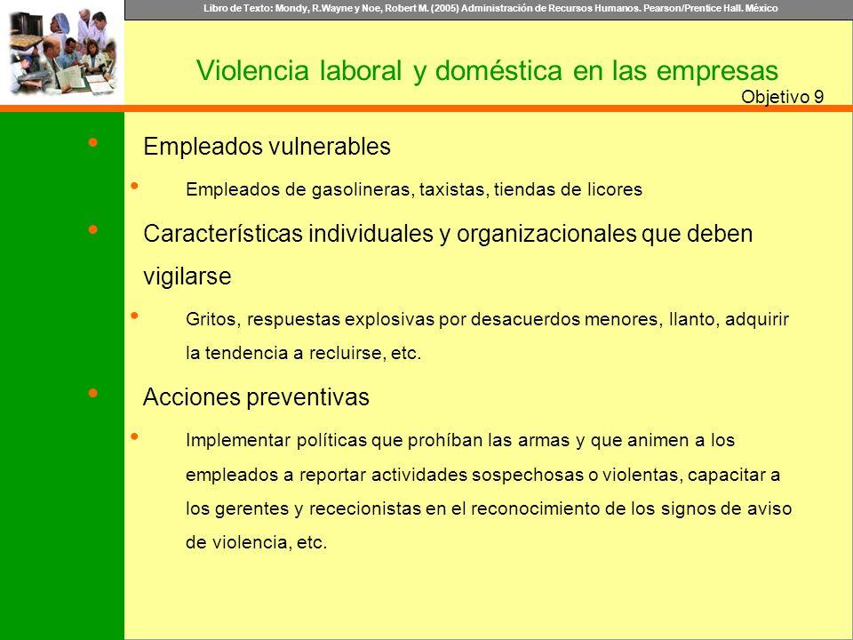 Violencia laboral y doméstica en las empresas