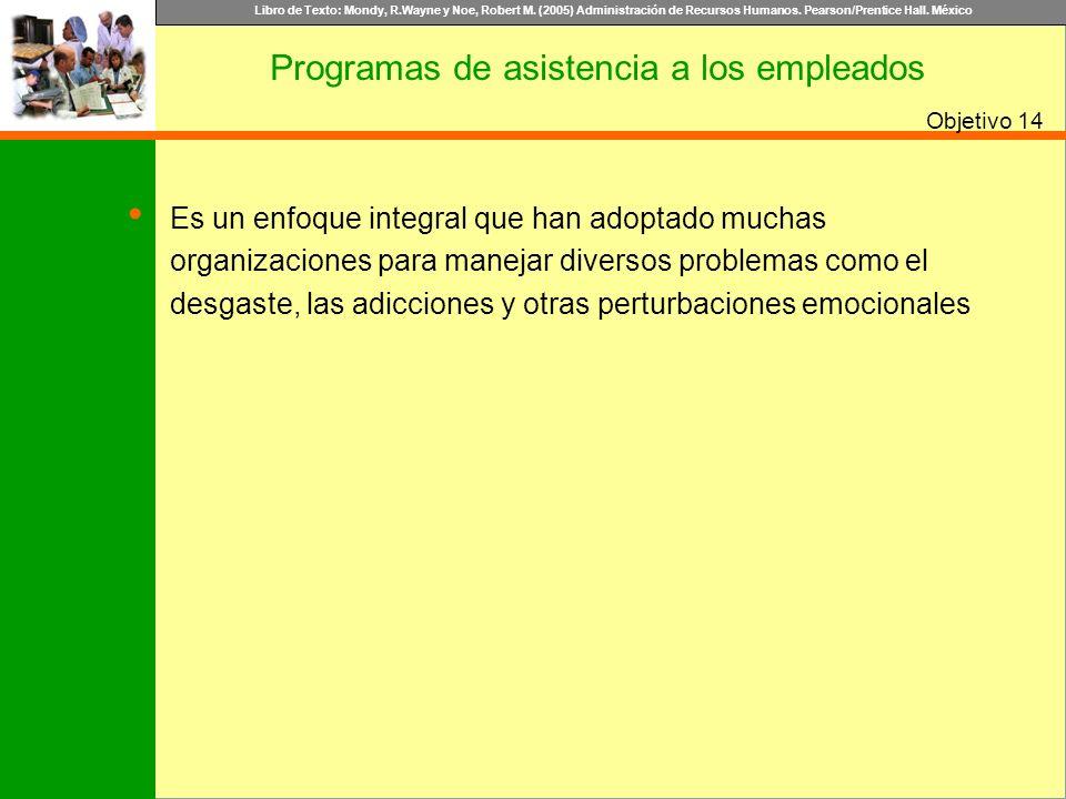 Programas de asistencia a los empleados