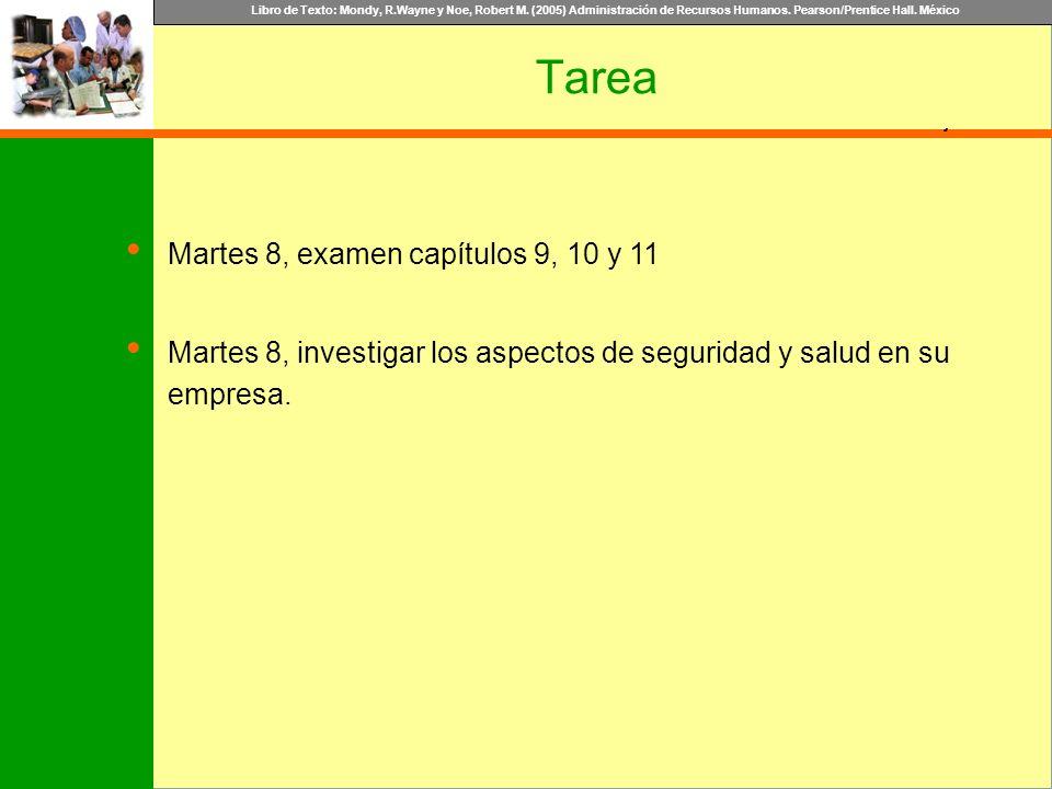 Tarea Martes 8, examen capítulos 9, 10 y 11