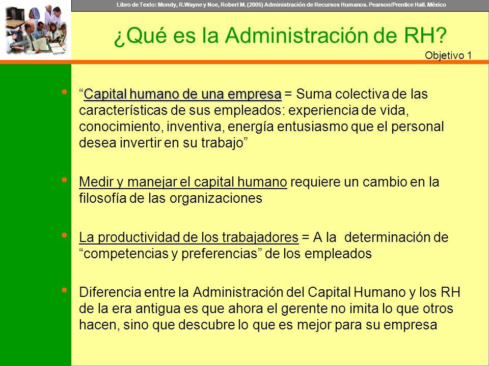¿Qué es la Administración de RH