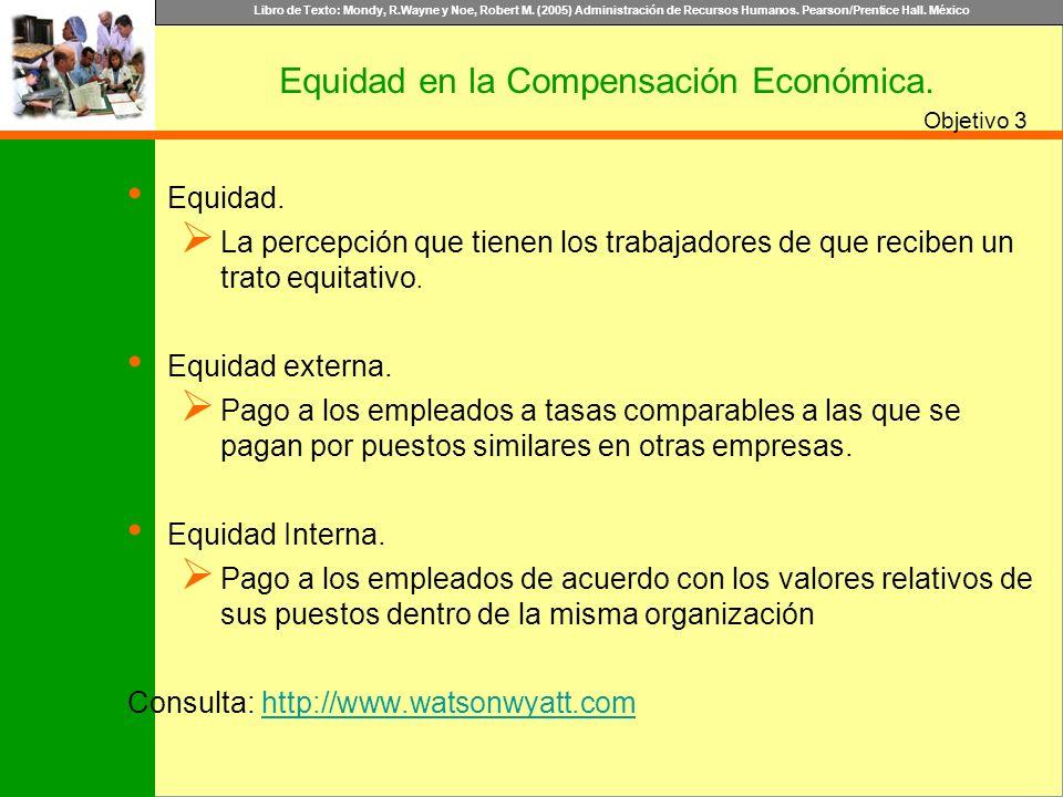Equidad en la Compensación Económica.