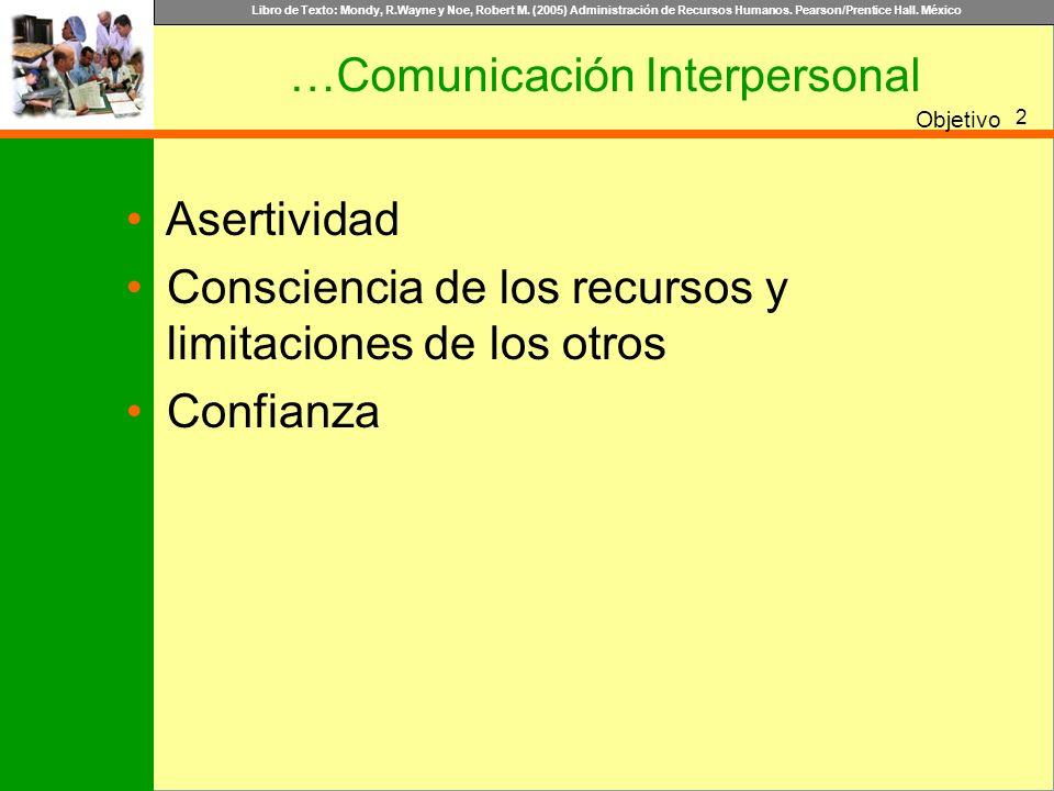 …Comunicación Interpersonal