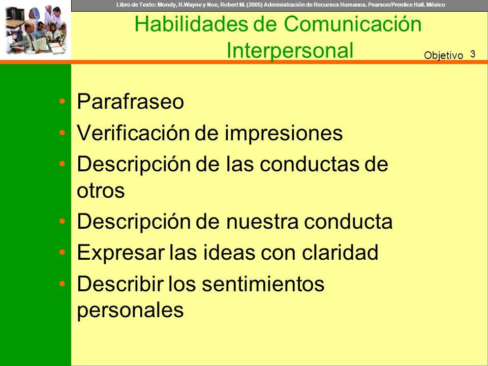 Habilidades de Comunicación Interpersonal