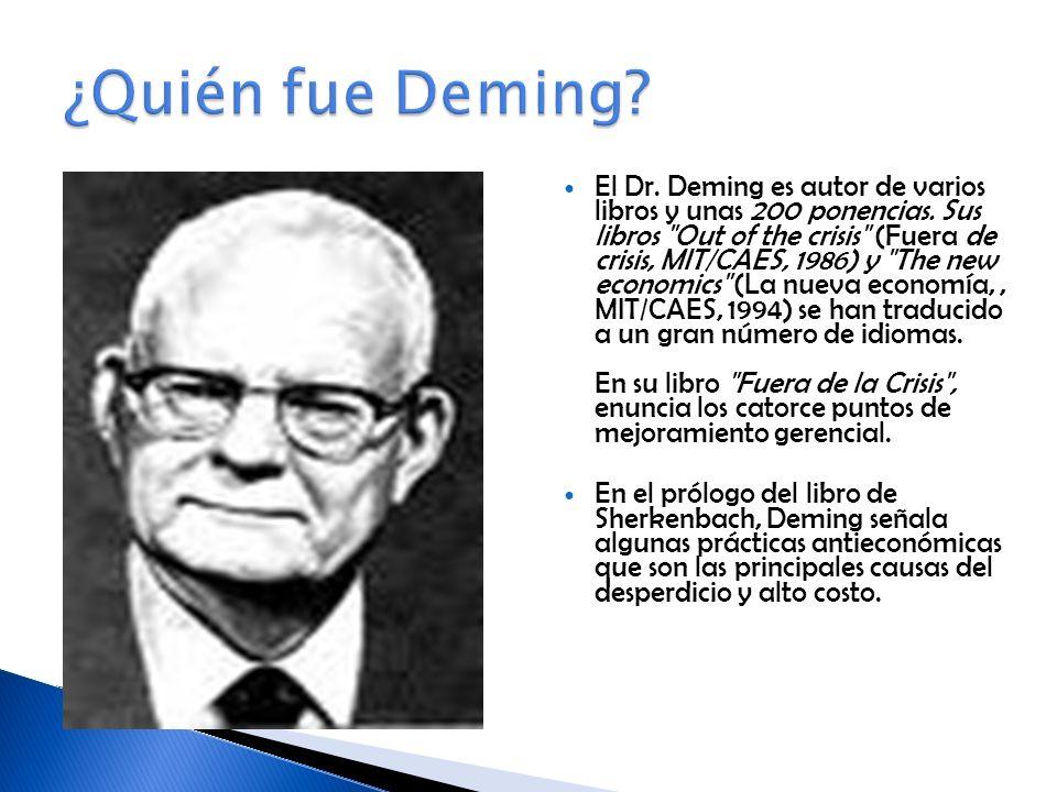 ¿Quién fue Deming