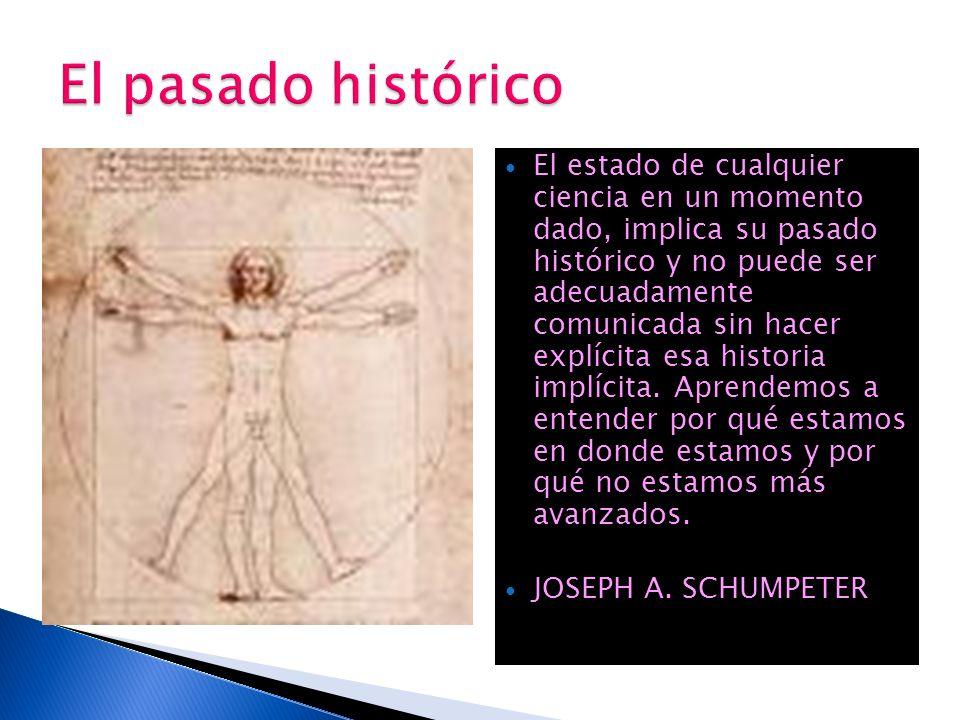 El pasado histórico