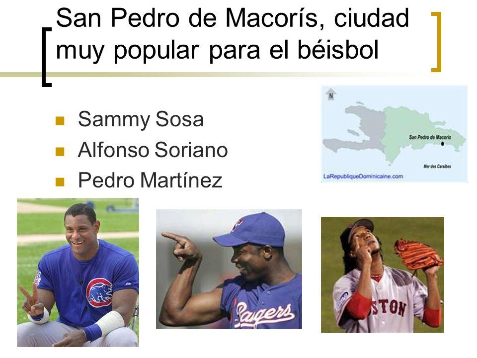 San Pedro de Macorís, ciudad muy popular para el béisbol