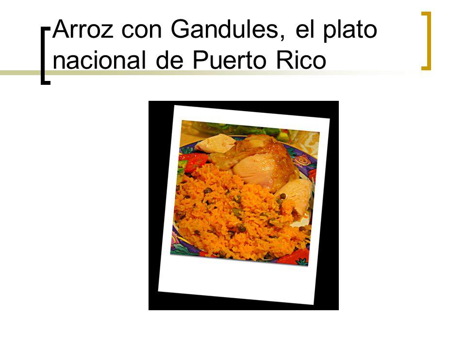 Arroz con Gandules, el plato nacional de Puerto Rico
