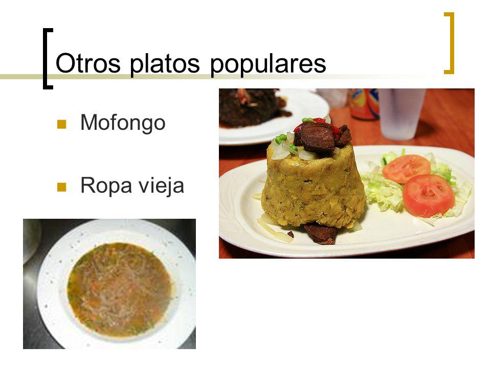 Otros platos populares