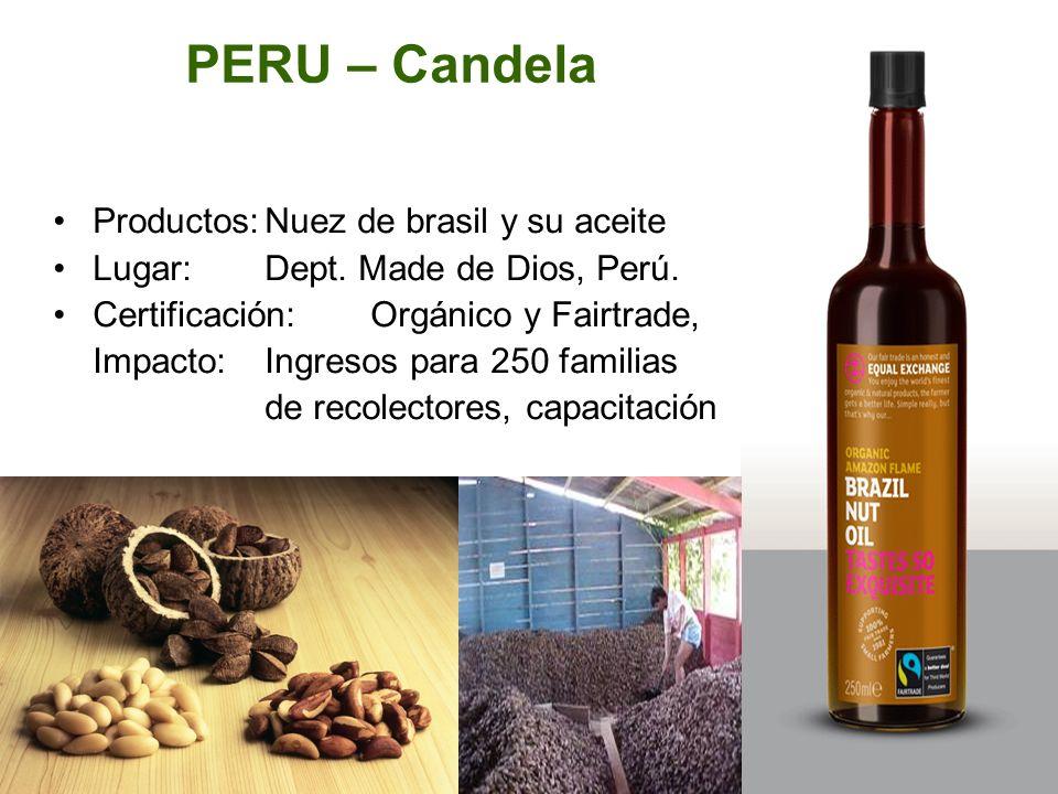 PERU – Candela Productos: Nuez de brasil y su aceite