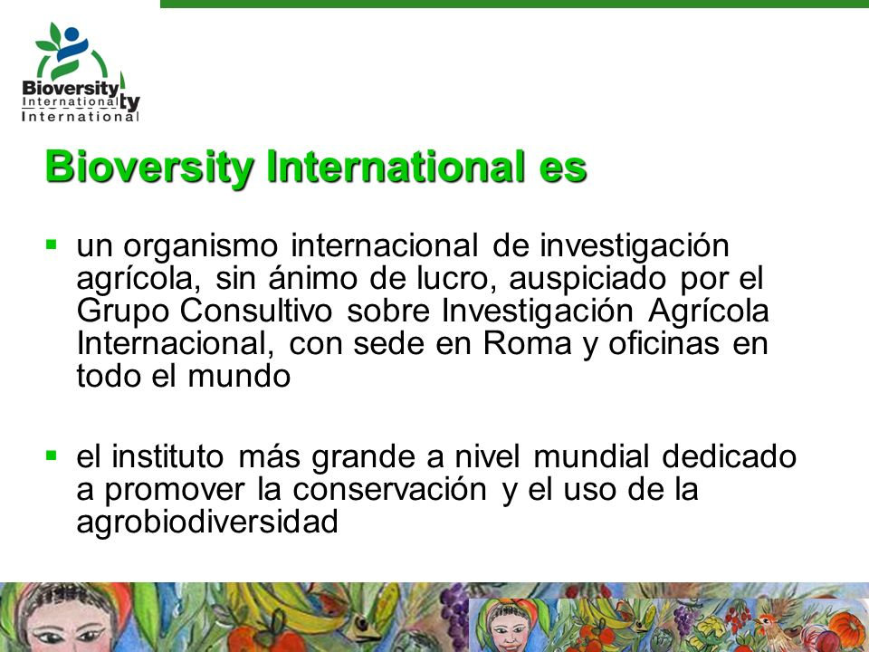 Bioversity International es