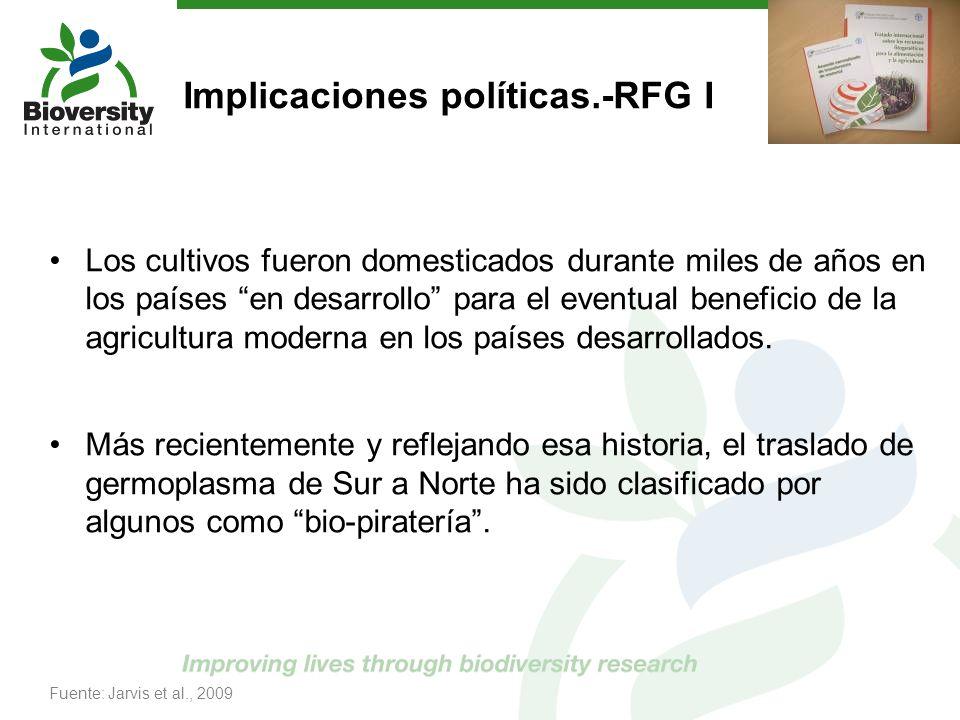 Implicaciones políticas.-RFG I