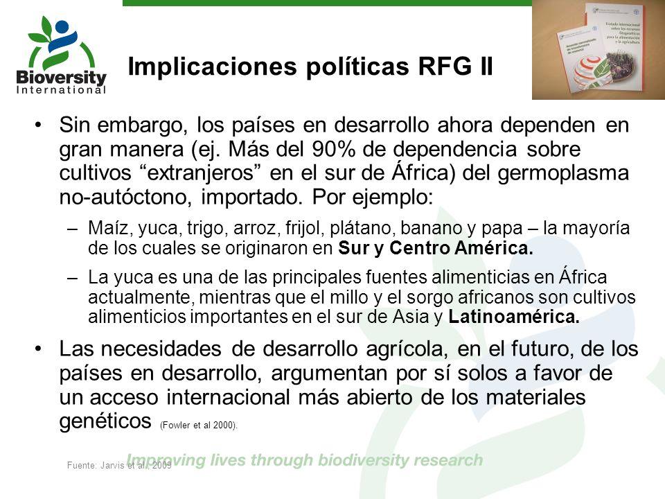 Implicaciones políticas RFG II
