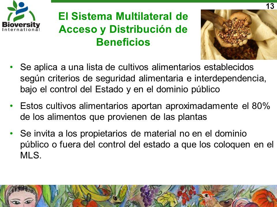 El Sistema Multilateral de Acceso y Distribución de Beneficios