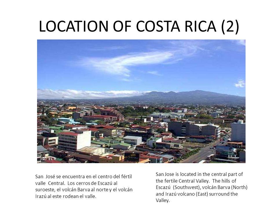 LOCATION OF COSTA RICA (2)