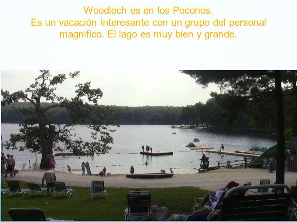 Woodloch es en los Poconos