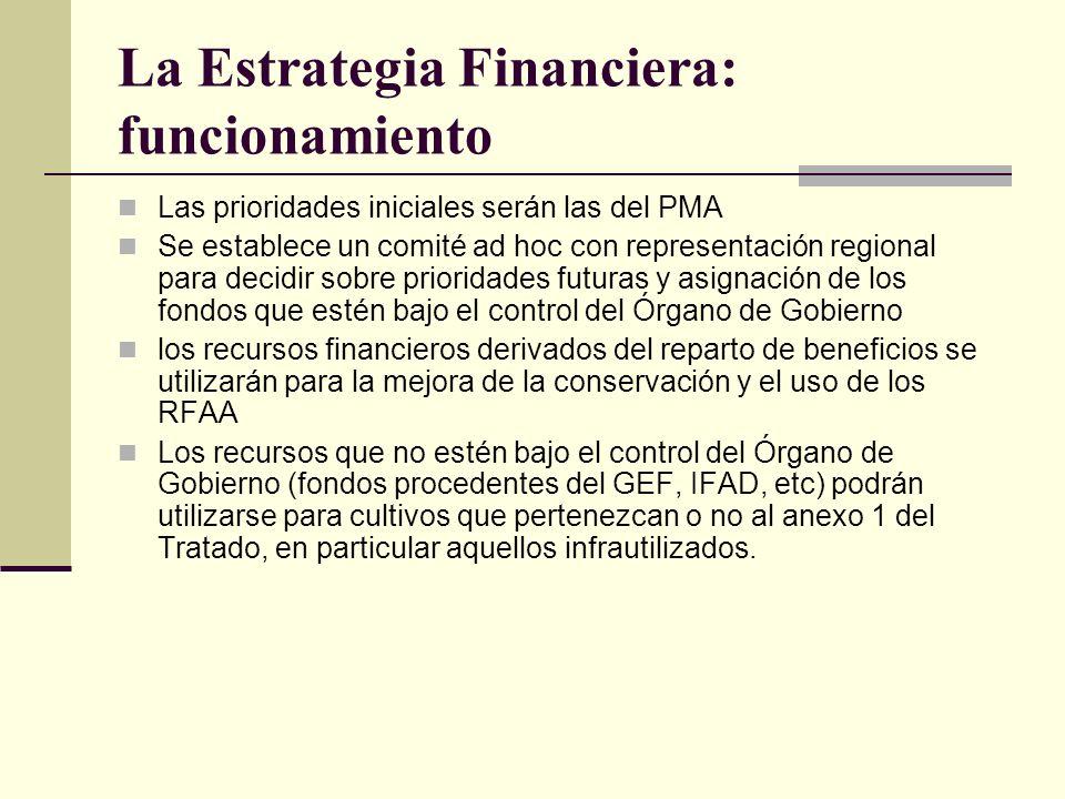 La Estrategia Financiera: funcionamiento