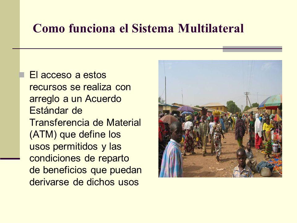 Como funciona el Sistema Multilateral