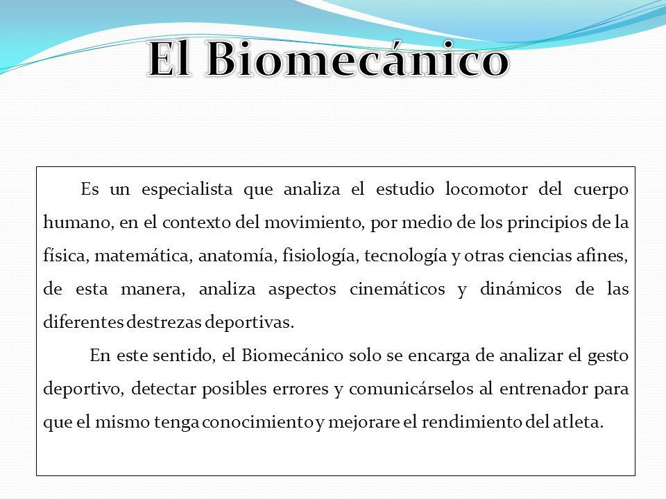 El Biomecánico