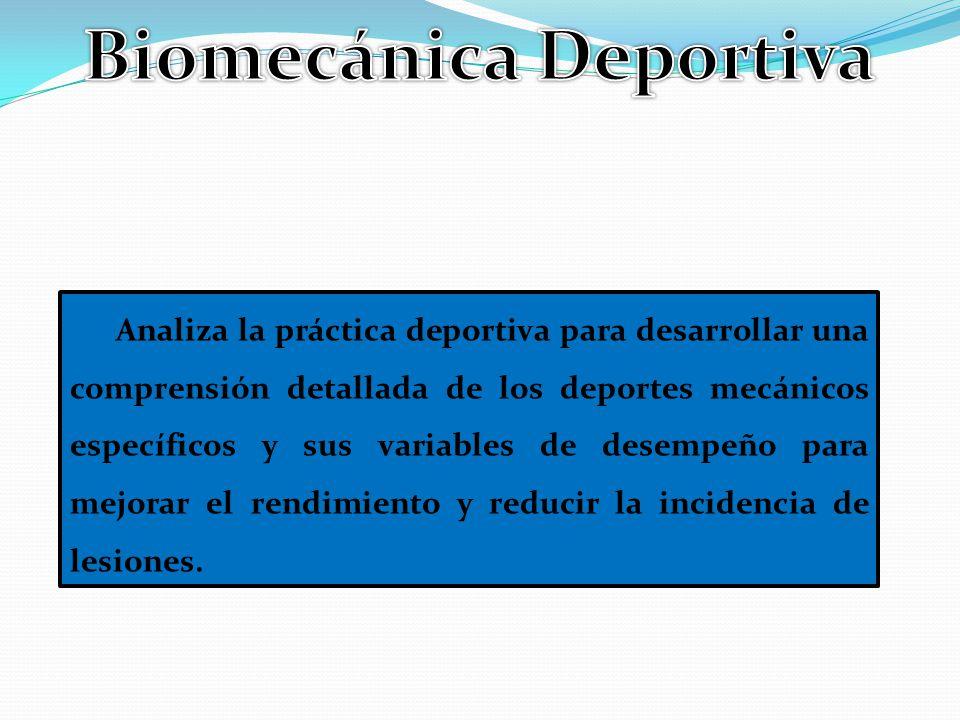 Biomecánica Deportiva