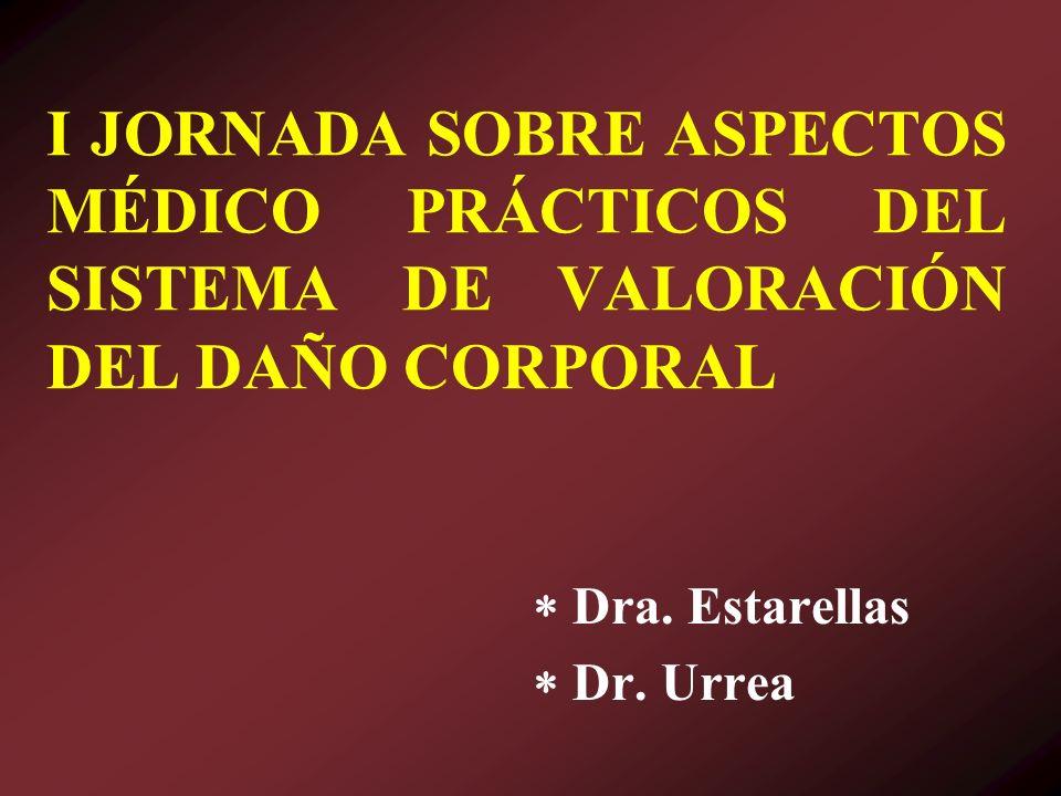  Dra. Estarellas  Dr. Urrea