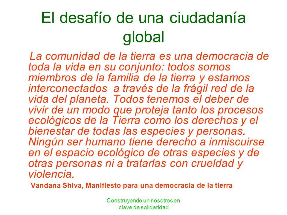 El desafío de una ciudadanía global