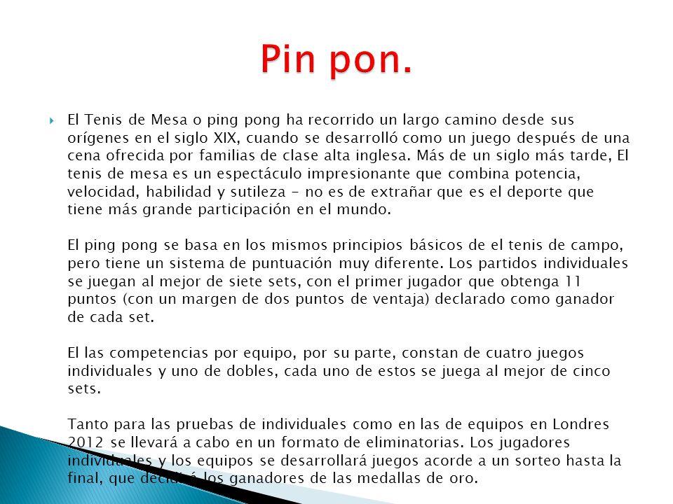 Pin pon.