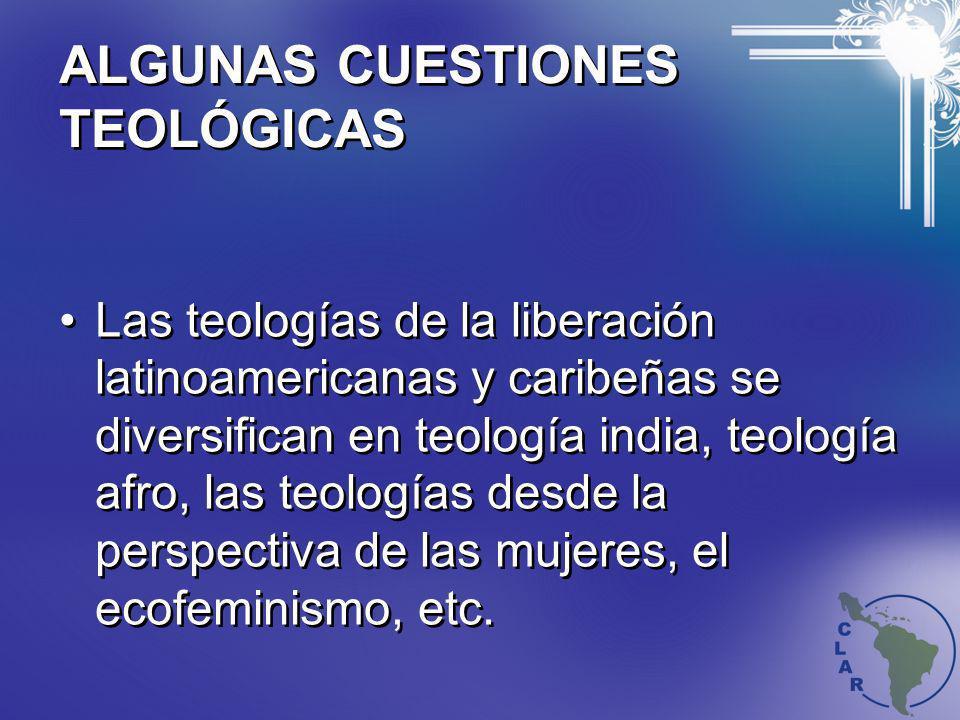 ALGUNAS CUESTIONES TEOLÓGICAS