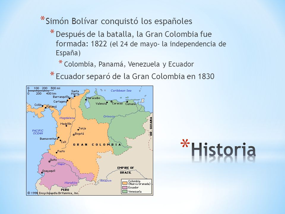 Historia Simón Bolívar conquistó los españoles
