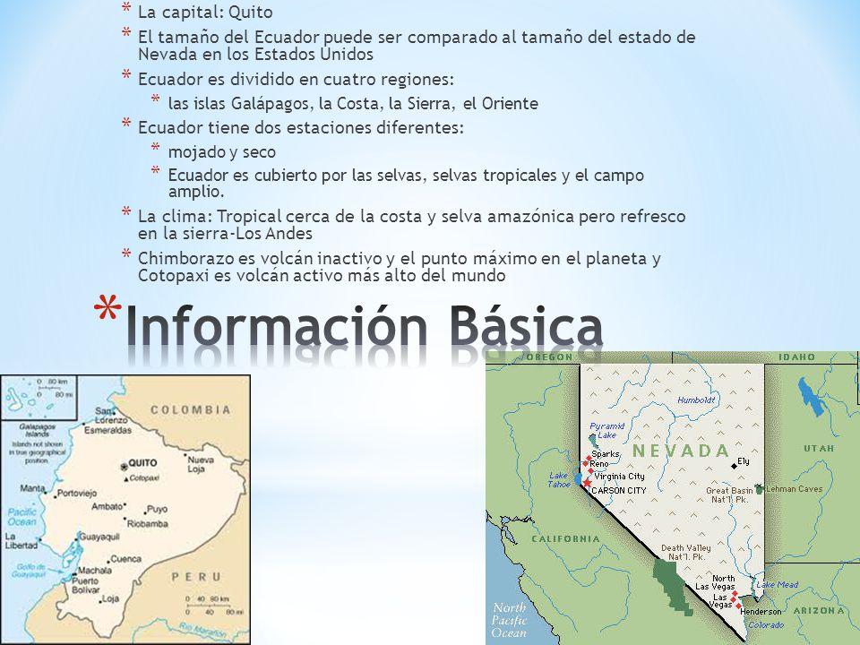 Información Básica La capital: Quito