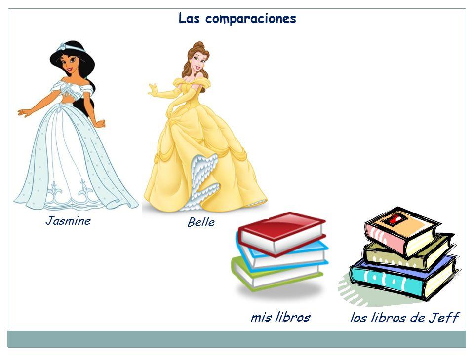 Las comparaciones Jasmine Belle mis libros los libros de Jeff