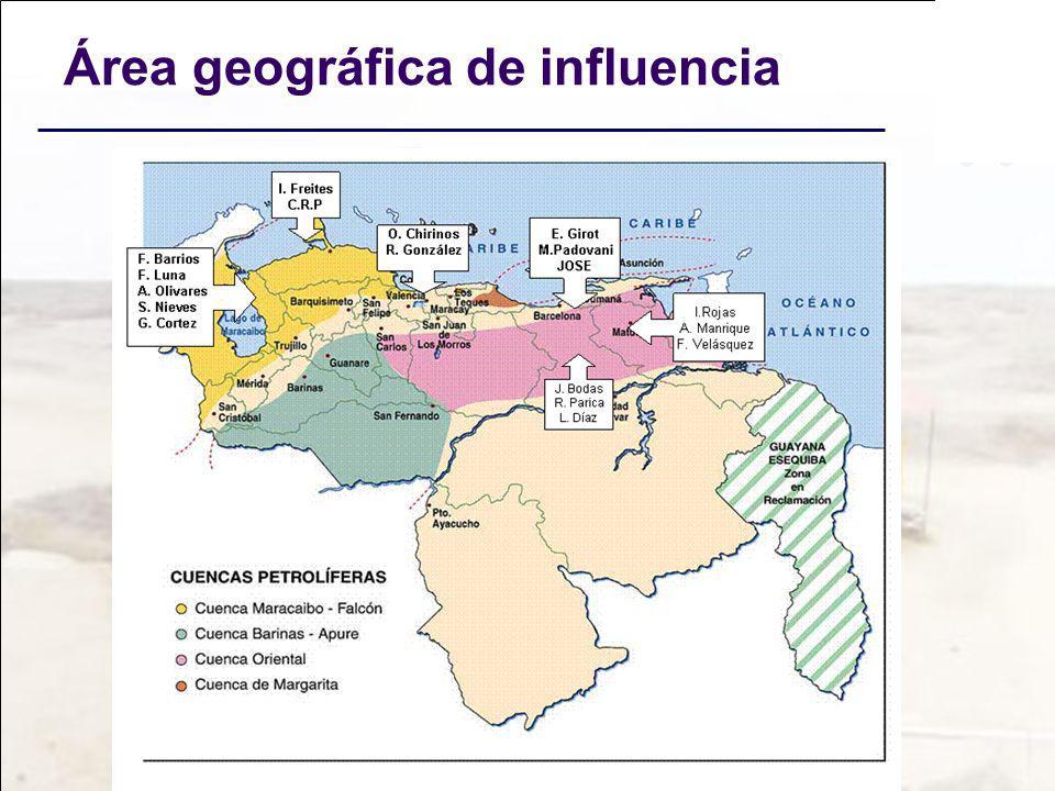 Área geográfica de influencia